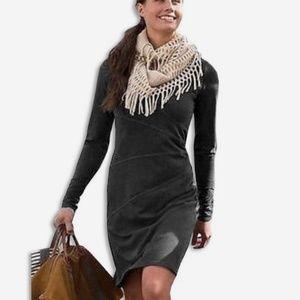 Athleta | Sunburst Organic Cotton Dress Gray MTall